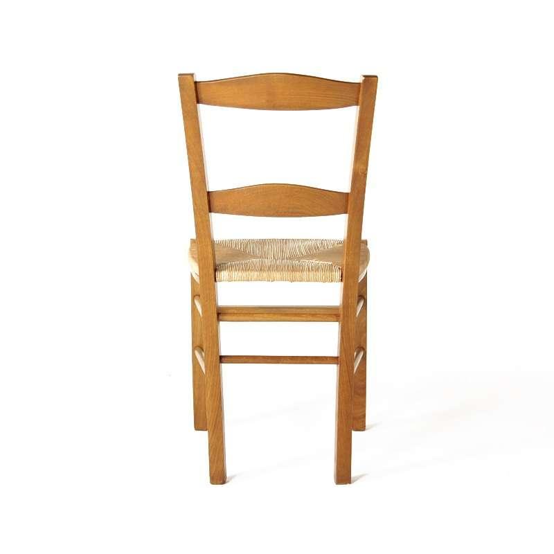 4 pieds vente en ligne for Chaise rustique bois et paille
