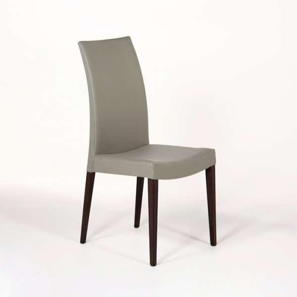 chaise de salle manger contemporaine en bois tortora 4 pieds tables chaises et tabourets. Black Bedroom Furniture Sets. Home Design Ideas