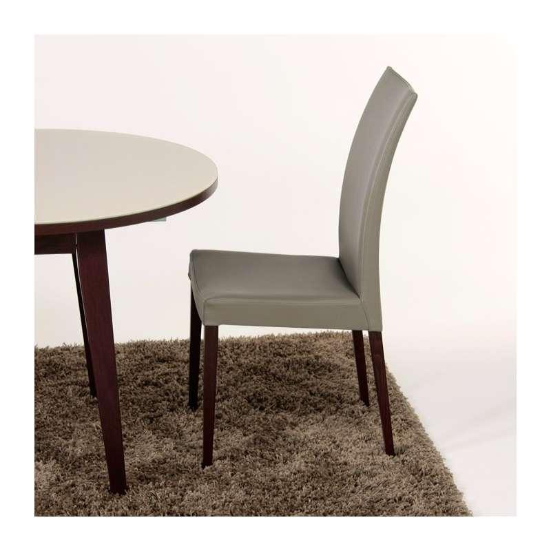 chaise de salle manger contemporaine en bois tortora 4. Black Bedroom Furniture Sets. Home Design Ideas