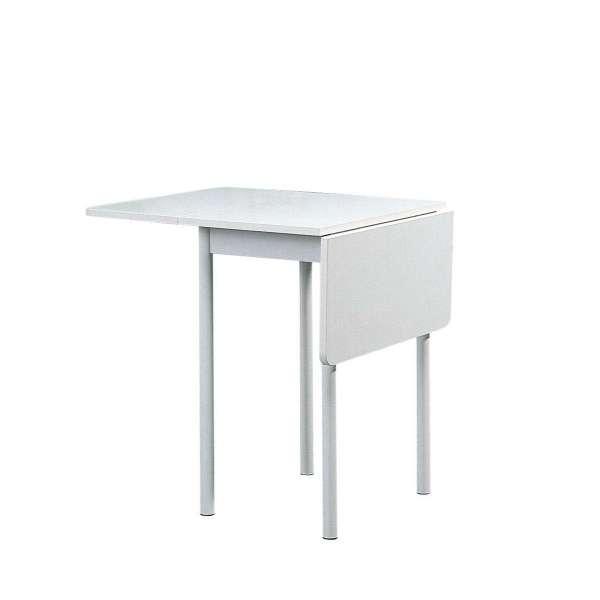 Table d 39 appoint pliante rectangulaire volets tkp 4 for Table pliante petit espace