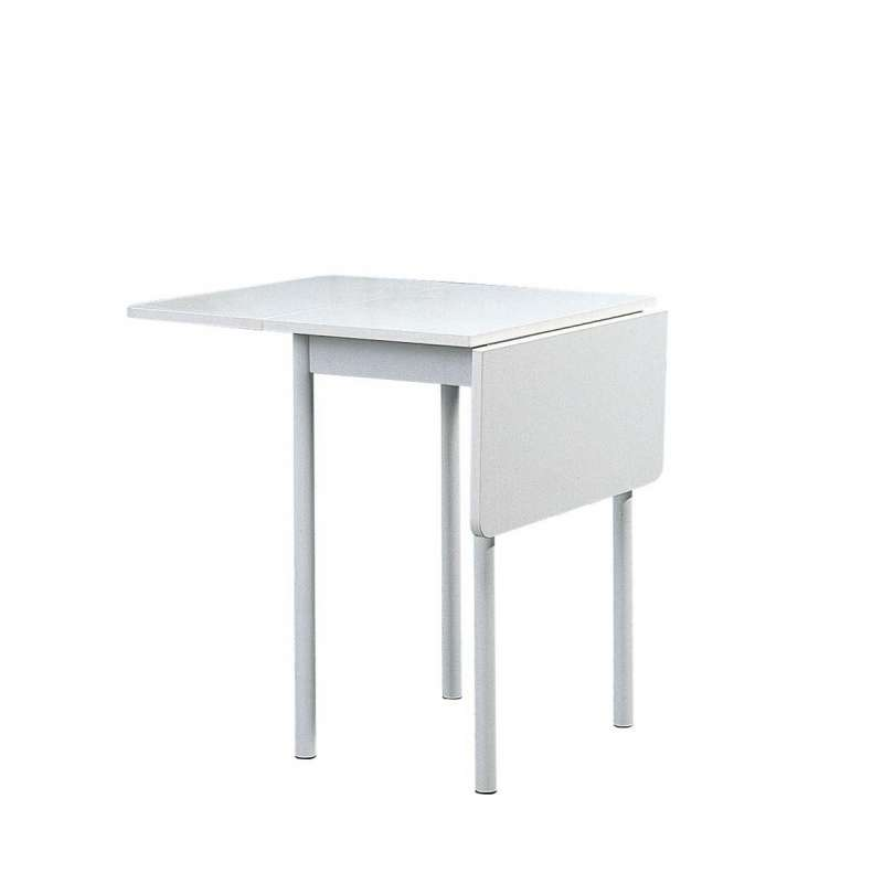 Table d 39 appoint pliante rectangulaire volets tkp 4 - Petite table de cuisine rabattable ...