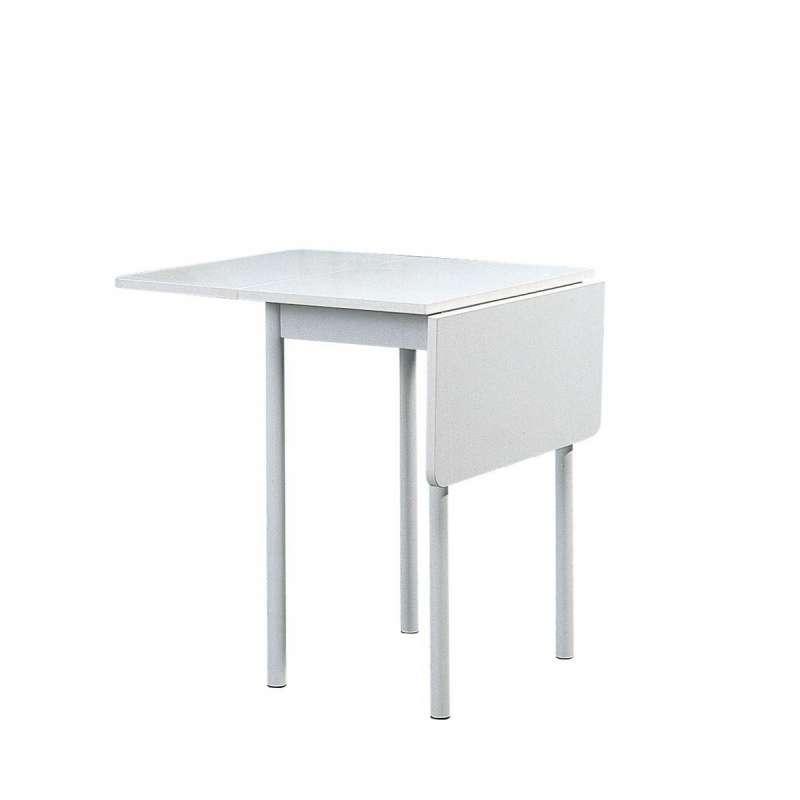 Table d 39 appoint rectangulaire extensible tkp 4 pieds tables chaises et tabourets - Petite table de jardin pliante ...