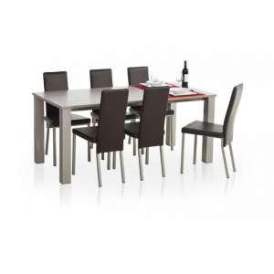 Table de cuisine rectangle en stratifié - Quinta