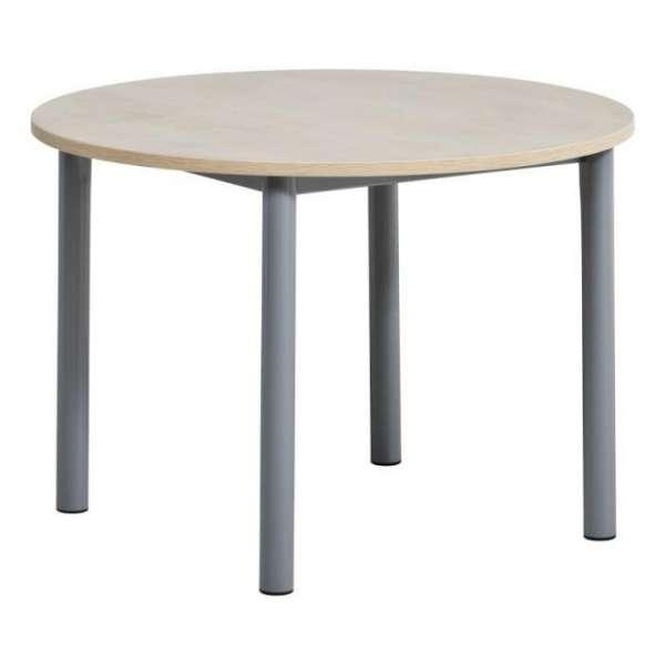 Table de cuisine ronde en stratifié - Lustra 2 - 2