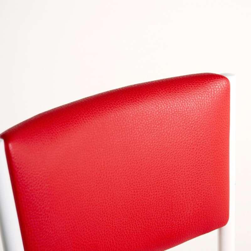 Tabouret de bar de cuisine en m tal ruby 4 pieds tables chaises et tabou - Tabouret bar aubergine ...