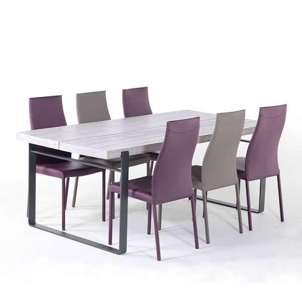 Achat de tables de salle manger 4 pieds for Table sejour