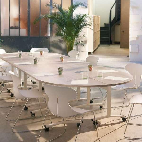 Table de réunion Ebba rabattable