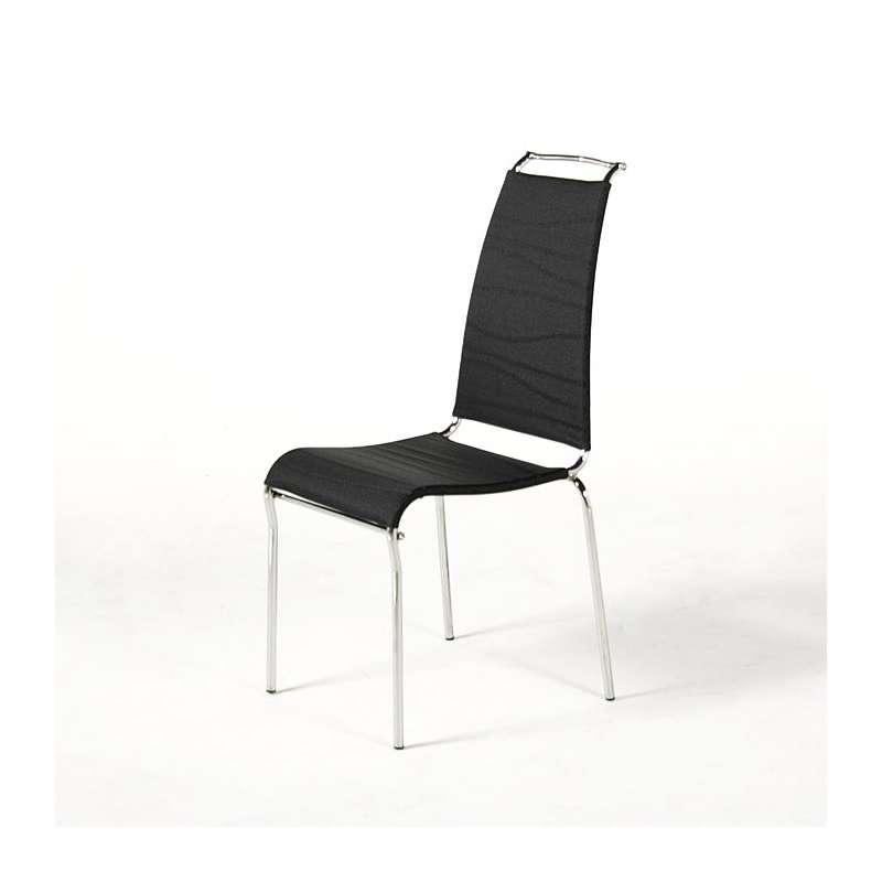 Chaise design air high en batyline calligaris 4 pieds for Calligaris air high