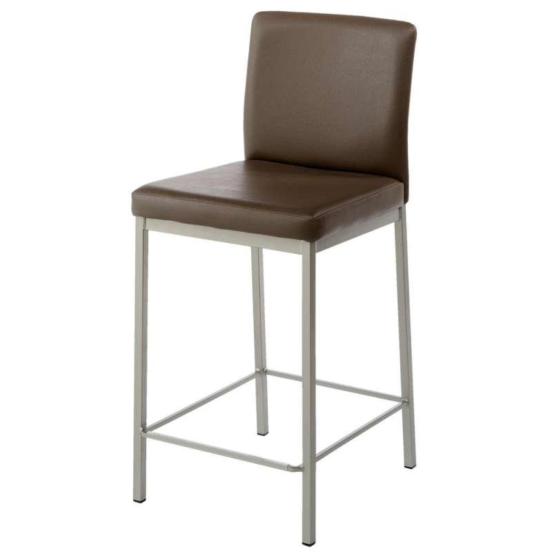 tabouret snack rembourr en m tal et synth tique villa 4 pieds tables chaises et tabourets. Black Bedroom Furniture Sets. Home Design Ideas