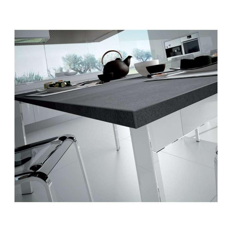 table design rectangulaire extensible universe130 domitalia 4 pieds tables chaises et. Black Bedroom Furniture Sets. Home Design Ideas