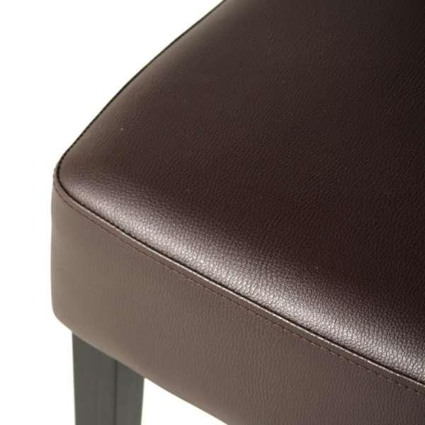 Chaise contemporaine marron - Steffi - 14