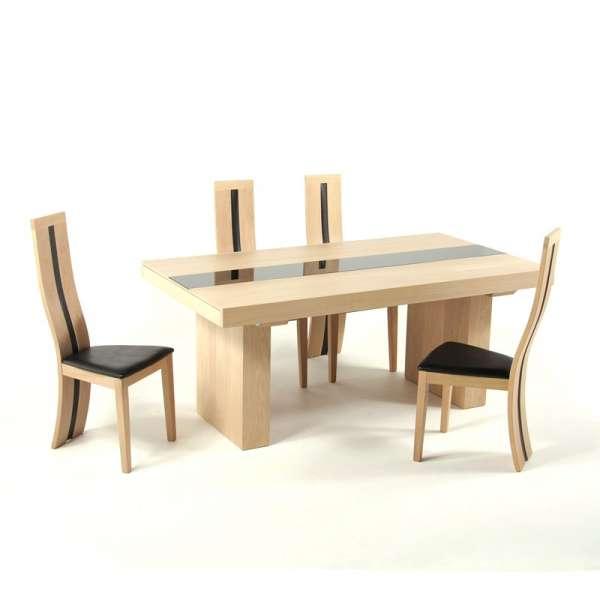 Chaise contemporaine en chêne  - 5