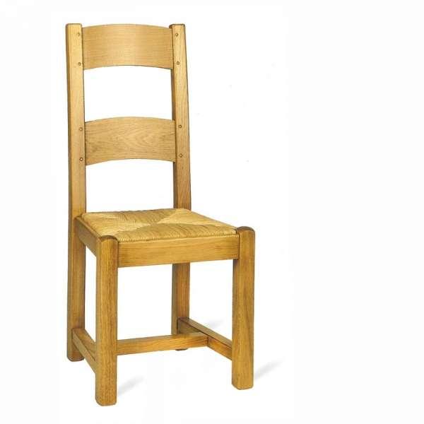 Chaise de salle à manger en bois rustique - 652 662