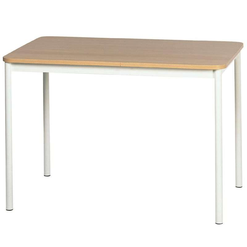 Table de cuisine basic rectangulaire en stratifi 4 for Pied de table cuisine