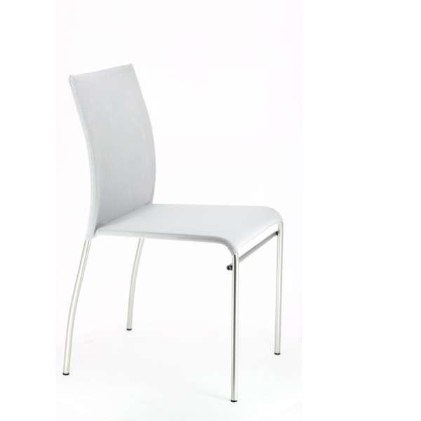 Chaise de cuisine en métal et batyline - Jenny 4 - 4