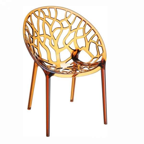 Chaise design en polycarbonate - Crystal 15 - 16