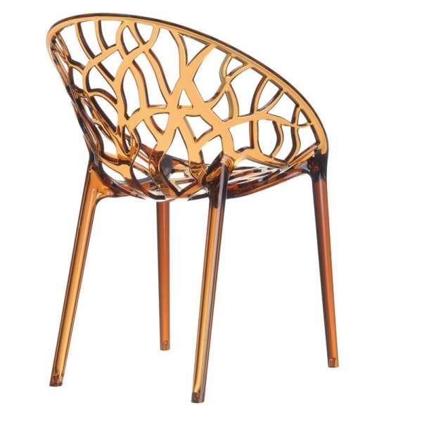 Chaise design en polycarbonate - Crystal 16 - 17