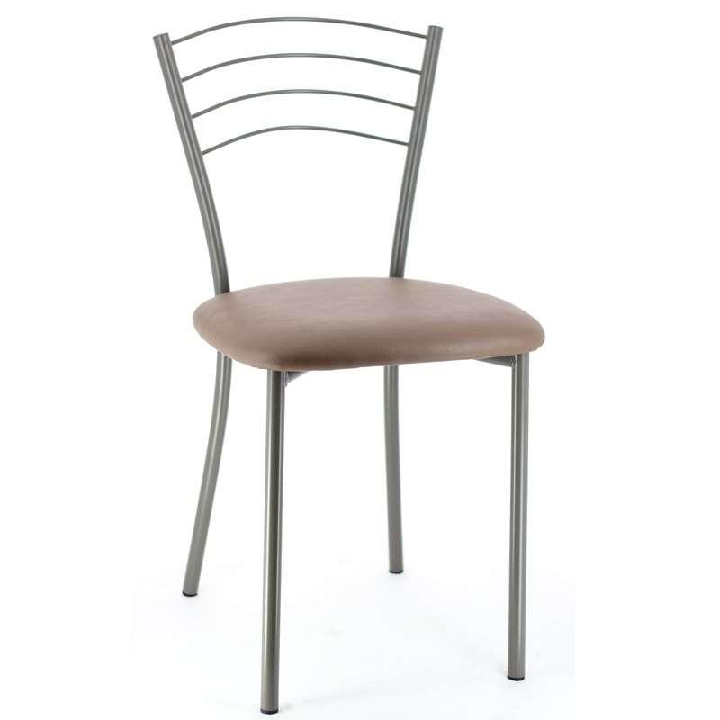 Chaise de cuisine en m tal roma 4 pieds tables - But chaises de cuisine ...