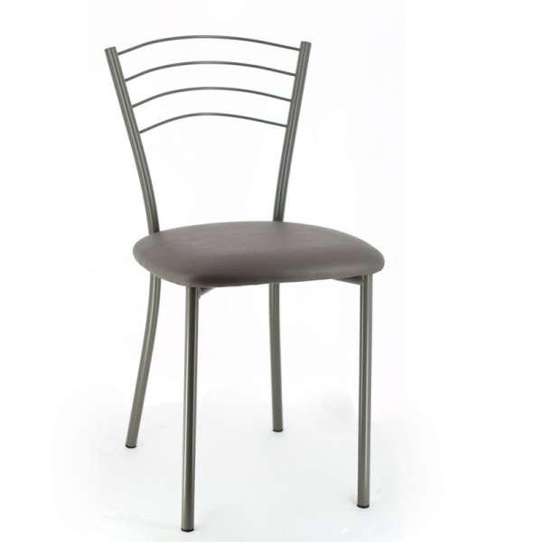 Chaise de cuisine contemporaine en métal - Roma 8 - 8