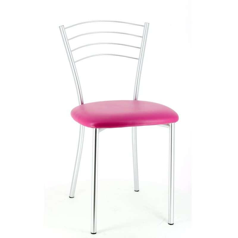 Chambre Bebe La Redoute : Chaise de cuisine en métal Roma  4 Pieds  tables, chaises et