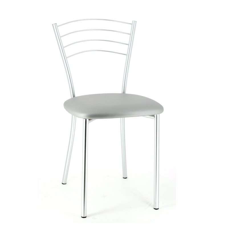 Chaise de cuisine contemporaine en m tal roma 4 pieds - Chaise de cuisine pas cher ...
