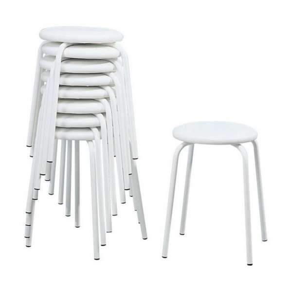 Tabouret bas empilable - 5