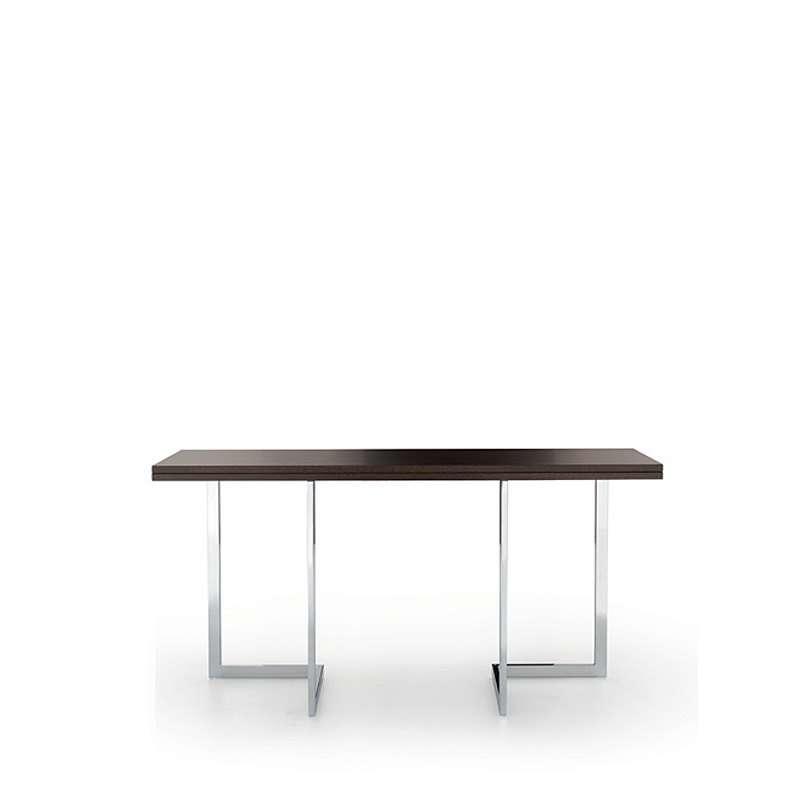 Table console modulable en bois et m tal giravolta r f - Table console en bois ...