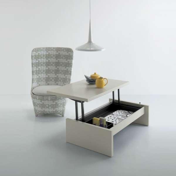Table basse modulable en bois - Yoyo
