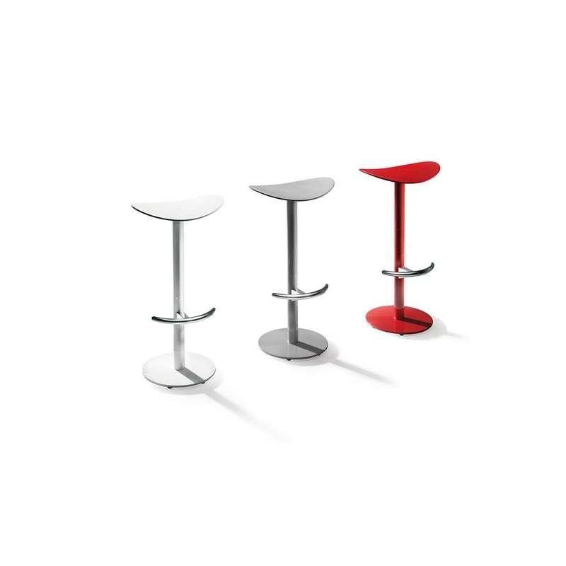 Tabouret de bar ou snack design coma enea 4 pieds tables chaises et tab - Tabouret de bar 4 pieds design ...