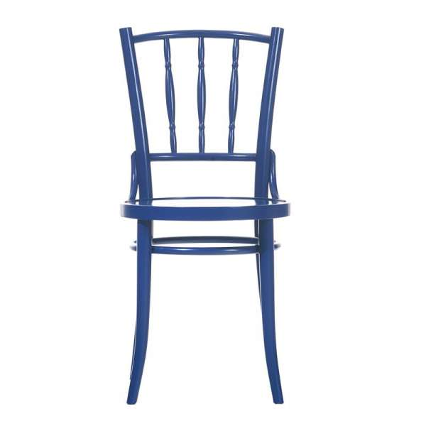 Chaise bistrot en bois dejavu - 2