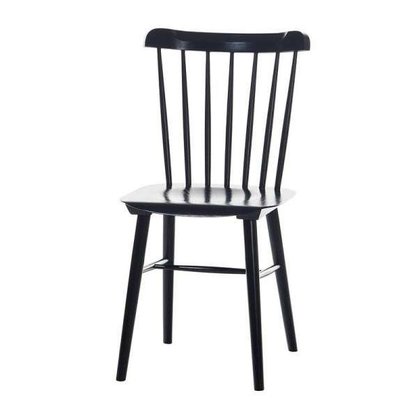 Chaise brasserie en bois - 6