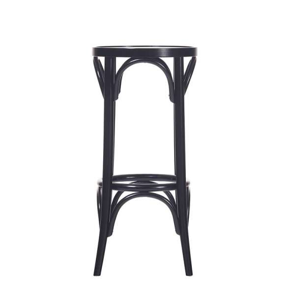 tabouret de bar en bois style bistrot 4 pieds tables chaises et tabourets. Black Bedroom Furniture Sets. Home Design Ideas