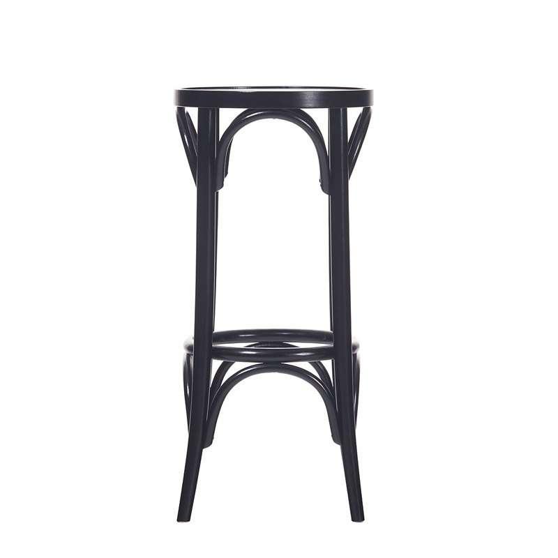 Tabouret de bar en bois style bistrot 4 pieds tables - Fabrication tabouret de bar en bois ...