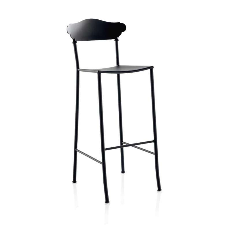 tabouret de bar en fer forg apolo 4 pieds tables. Black Bedroom Furniture Sets. Home Design Ideas