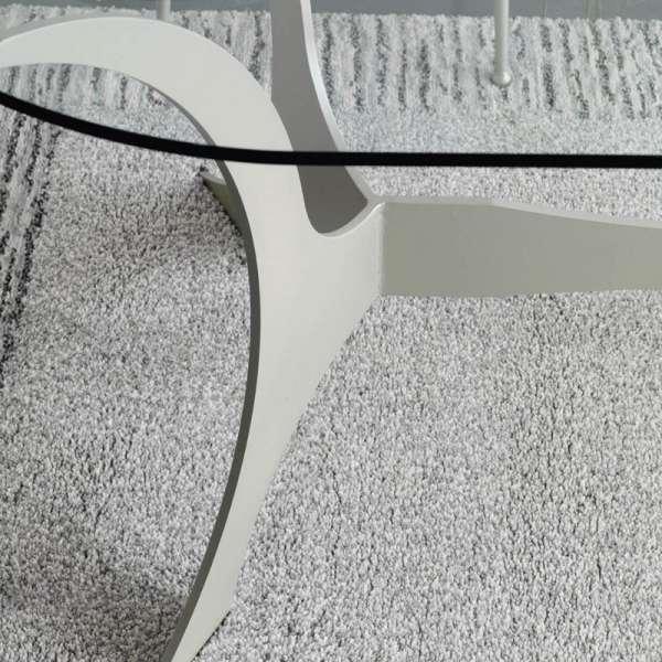 Table en fer forgé ovale Apolo - 3