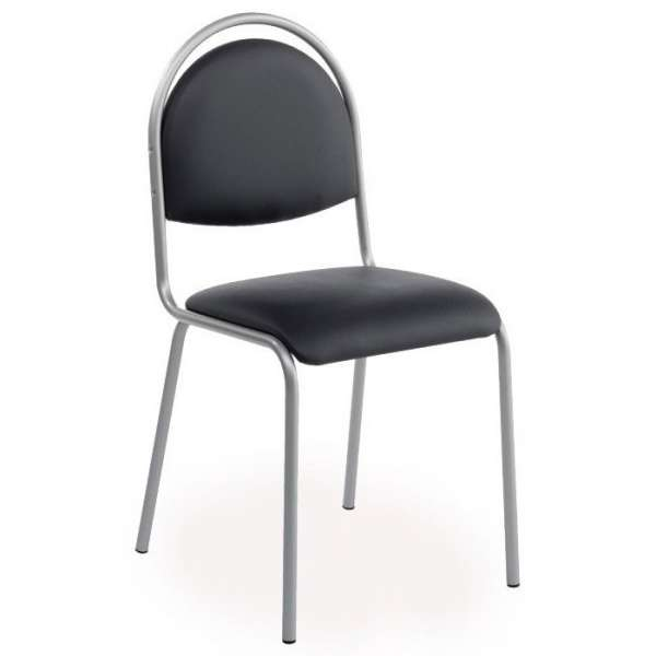 Chaise de cuisine en synthétique et métal - Gaby