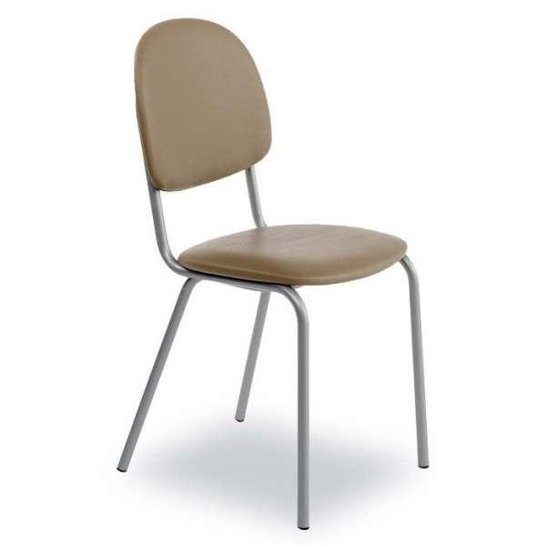 Chaise de cuisine en métal et synthétique - STR05