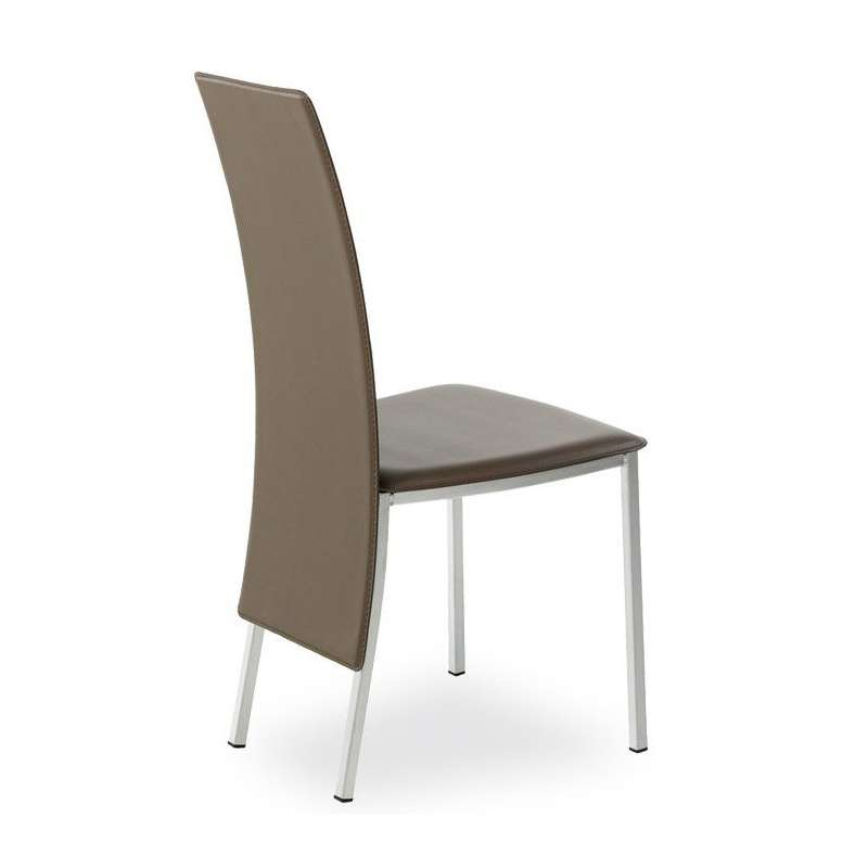 Chaise contemporaine elyn en m tal 4 pieds tables chaises et tabourets Chaises contemporaine