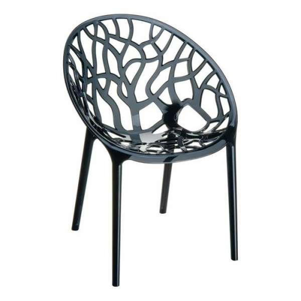 Chaise design en polycarbonate - Crystal 4 - 5