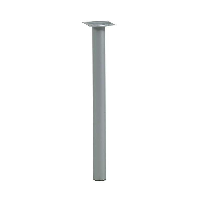 Pied de table de cuisine hauteur 75 cm l 39 unit p60 - Pied de table hauteur 100 cm ...