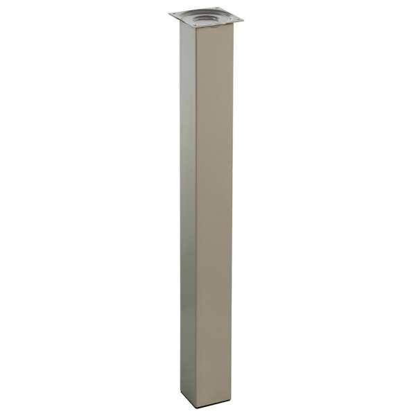 Pi tement pour table de cuisine hauteur 90 cm l 39 unit - Pied de table hauteur 100 cm ...