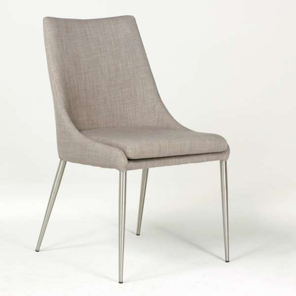Chaise contemporaine en tissu - Debby 6 - 6