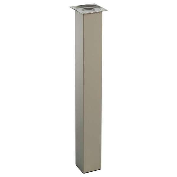 Pied de table de cuisine hauteur 75 (à l'unité) - Quadra