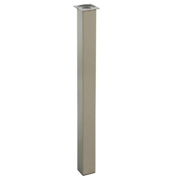 Pi tement pour table de cuisine hauteur 110 cm 4 pieds for Hauteur de cuisine