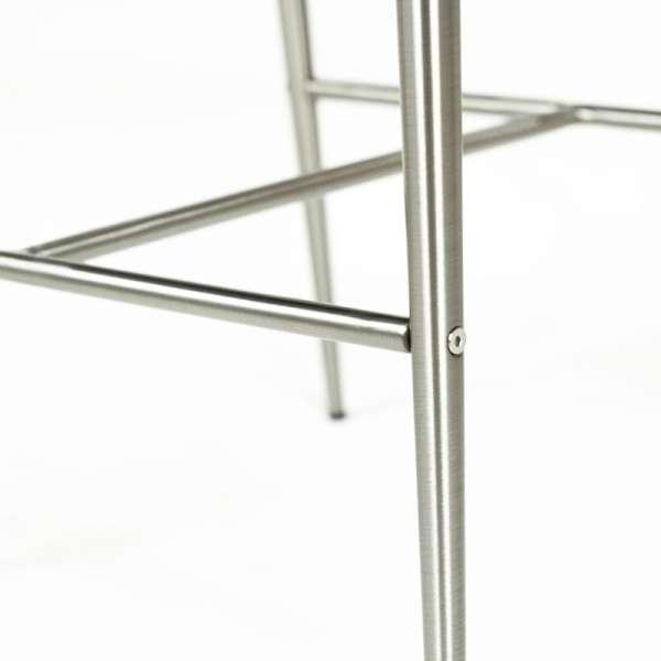 Tabouret snack contemporain hauteur 65 cm - Davon 5 - 6