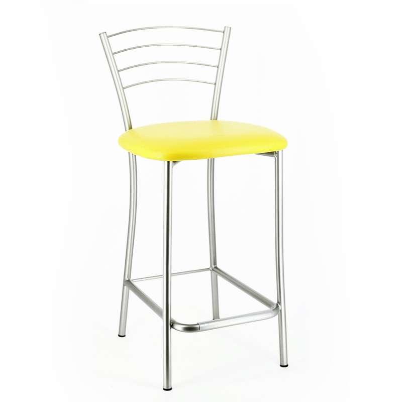 tabouret snack de cuisine en m tal roma 4 pieds tables chaises et tabourets. Black Bedroom Furniture Sets. Home Design Ideas