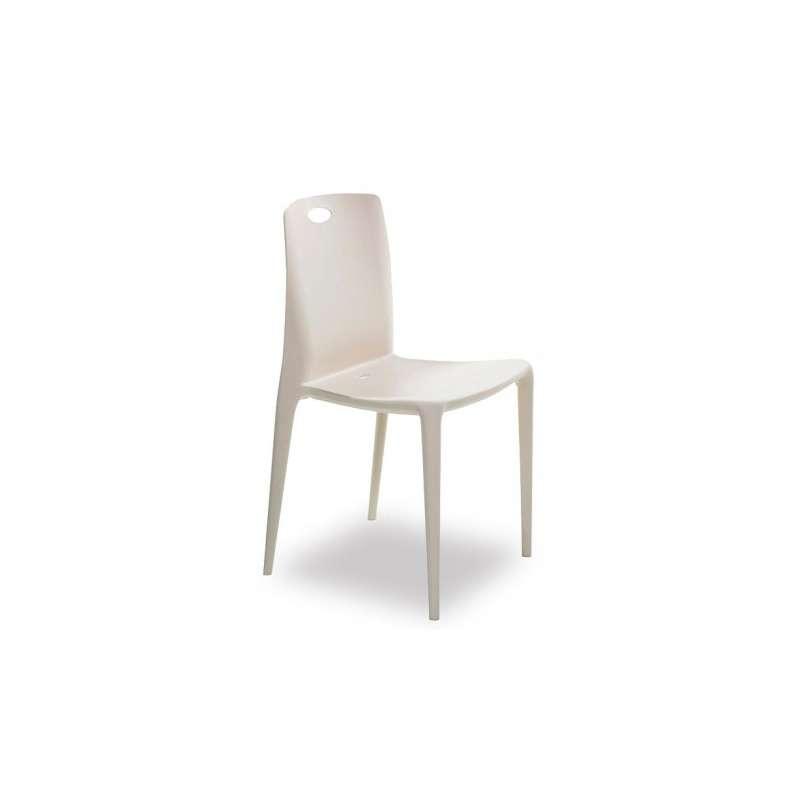 Chaise moderne en polypropyl ne zeno 4 pieds tables chaises et tabourets - Chaise en polypropylene ...