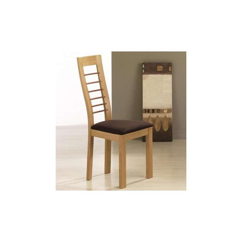 chaise de s jour contemporaine en ch ne cannelle 4. Black Bedroom Furniture Sets. Home Design Ideas