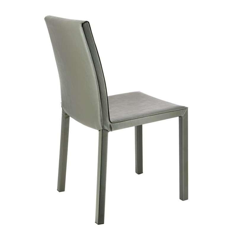 chaise de salle manger contemporaine en synth tique gala 4 pieds tables chaises et. Black Bedroom Furniture Sets. Home Design Ideas