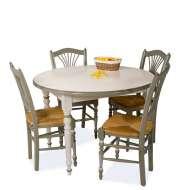 meubles design salle table ronde avec rallonge ikea
